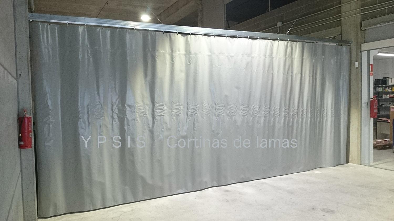 Cortina corredera de lona de pvc ypsis Cortinas plegables de pvc