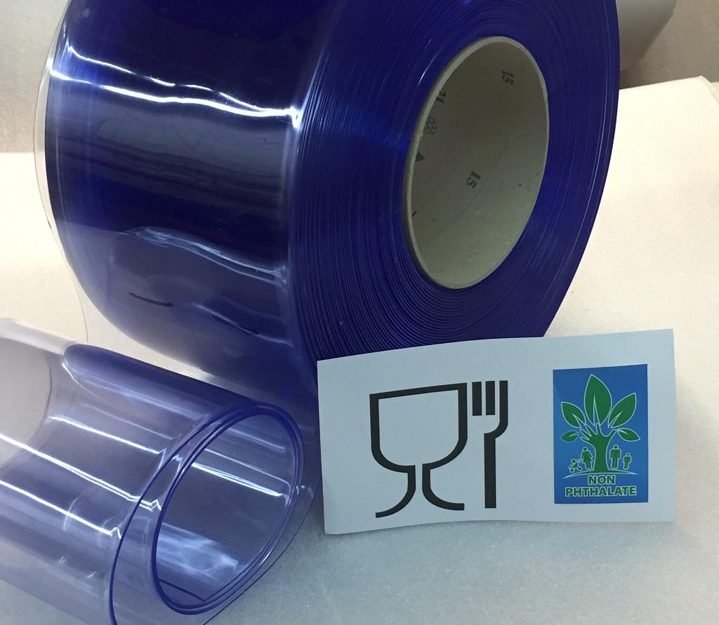 Lama de PVC flexible para contacto con alimentos