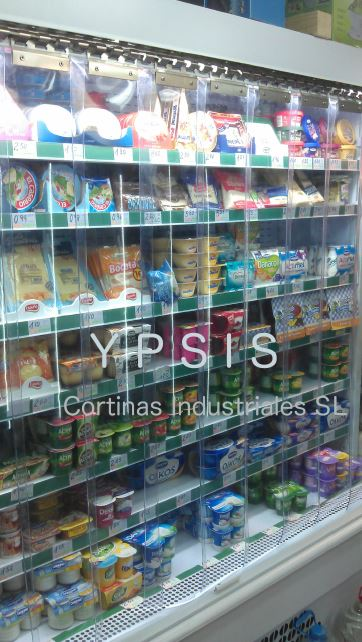 lamas pvc supermercado