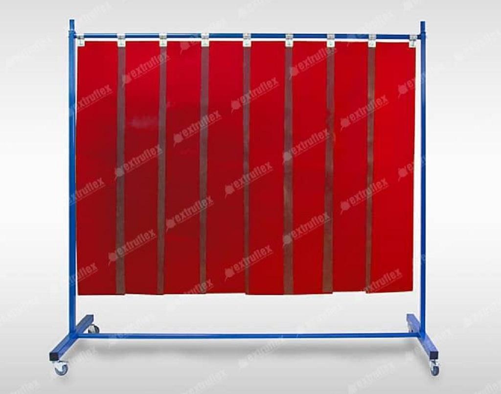 pantallas de soldadura en PVC flexible